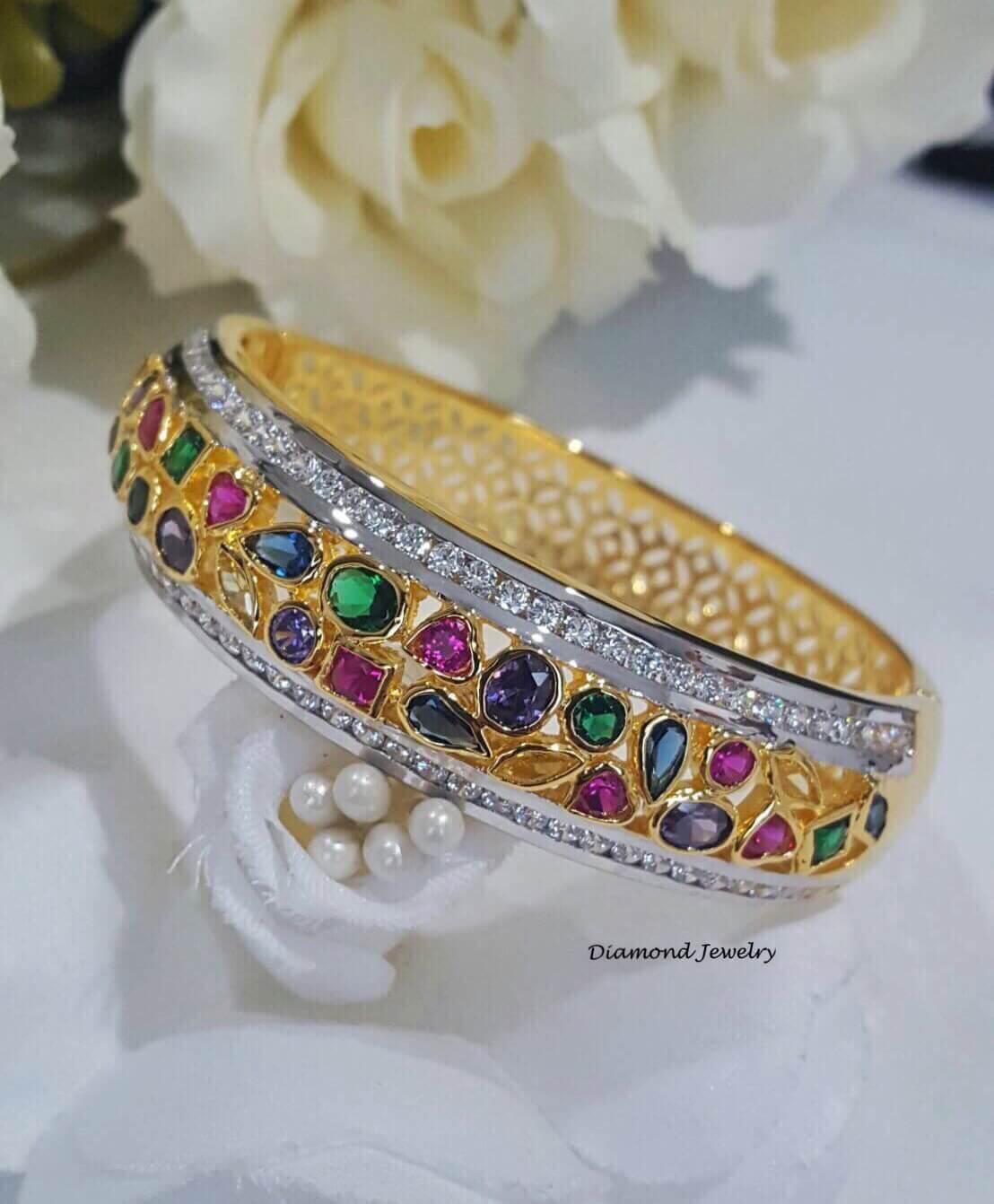 พร้อมส่ง Diamond Bangle งานสวยมาก