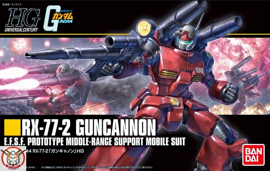 HGUC 1/144 GUNCANNON (REVIVE Ver.)