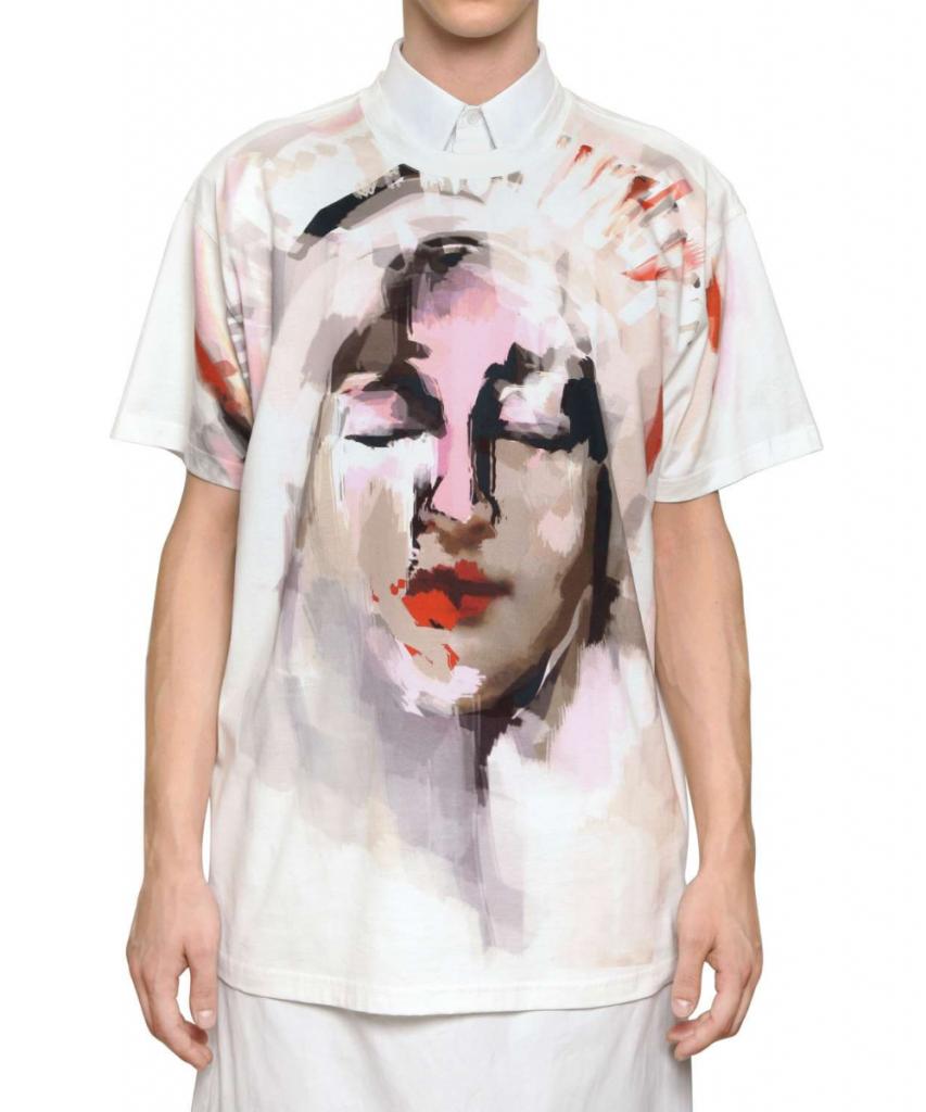 เสื้อยืดGivenchy Abtract Madonna T-shirt 1:1