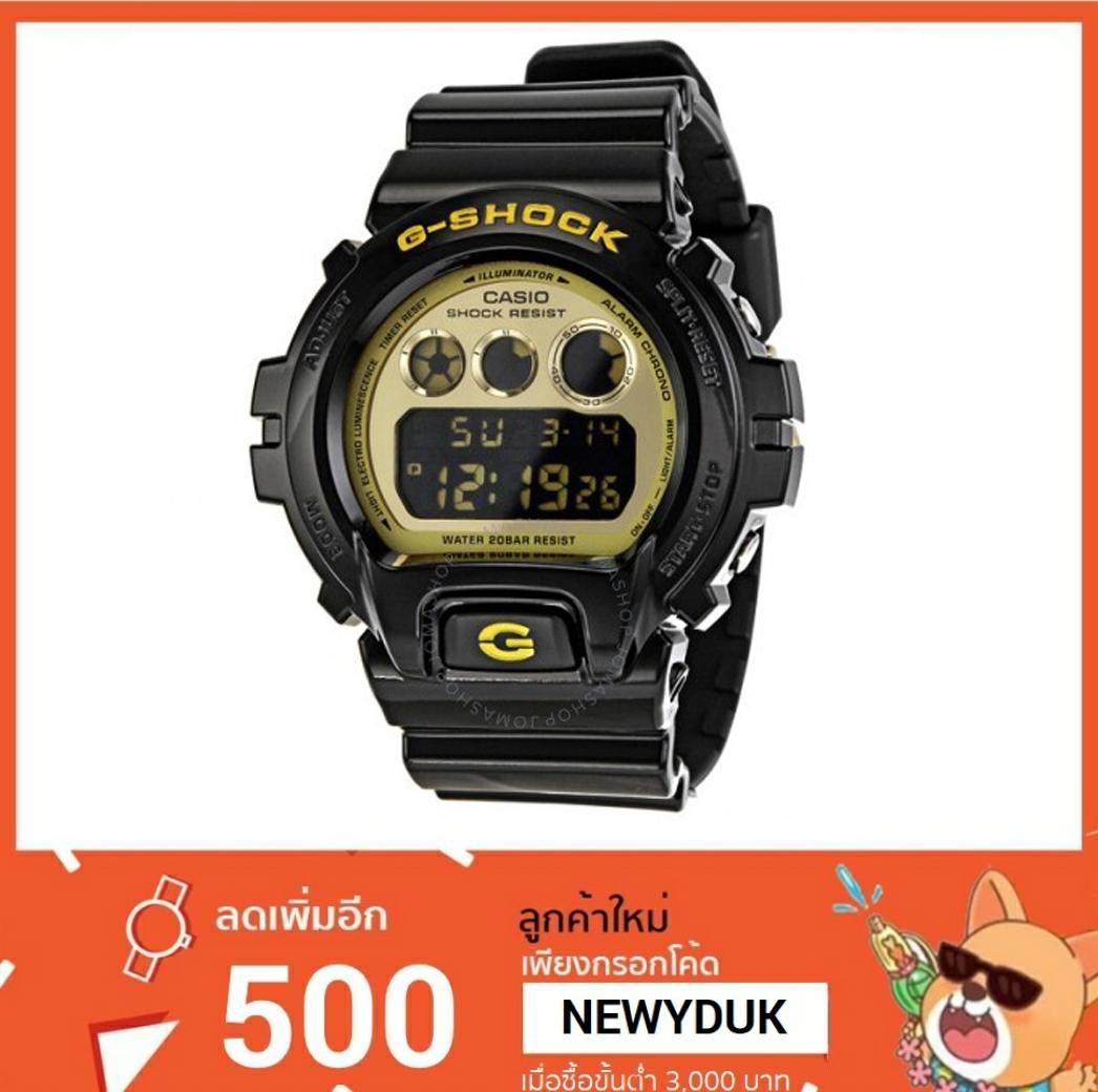 GShock G-Shockของแท้ ประกันศูนย์ DW-6900CB-1 จีช็อค นาฬิกา ราคาถูก