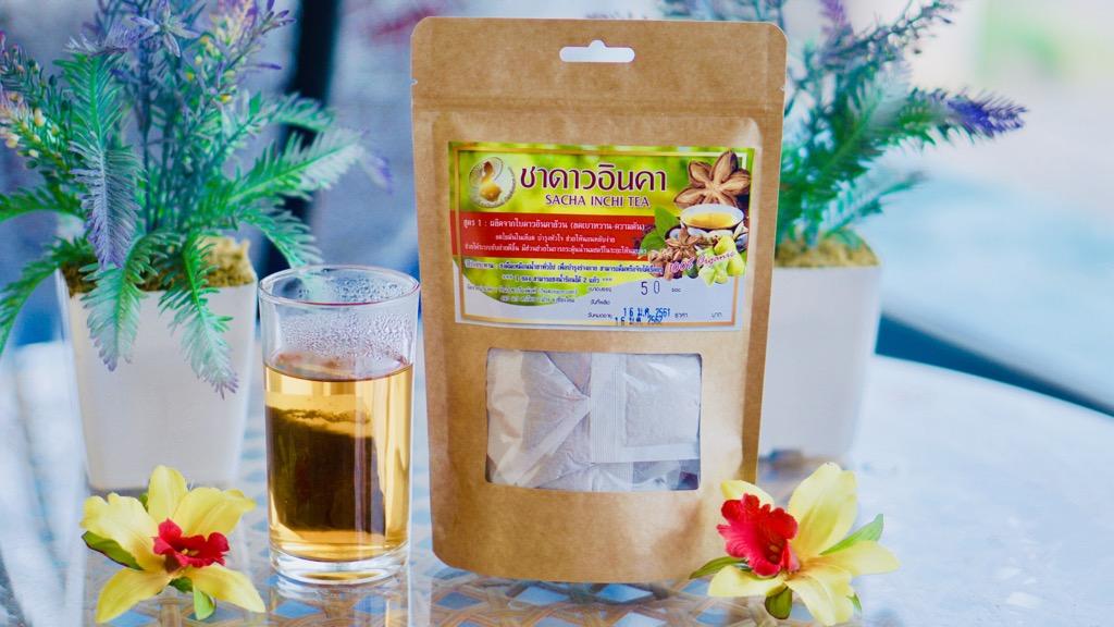 ชาอินคา สูตร1 กลิ่นหอมละมุน(ใบล้วนอบ) 50ชิ้น