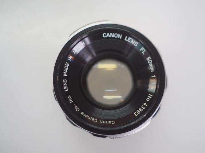 CANON LENS FL 50MM.F1.8 FL MOUNT