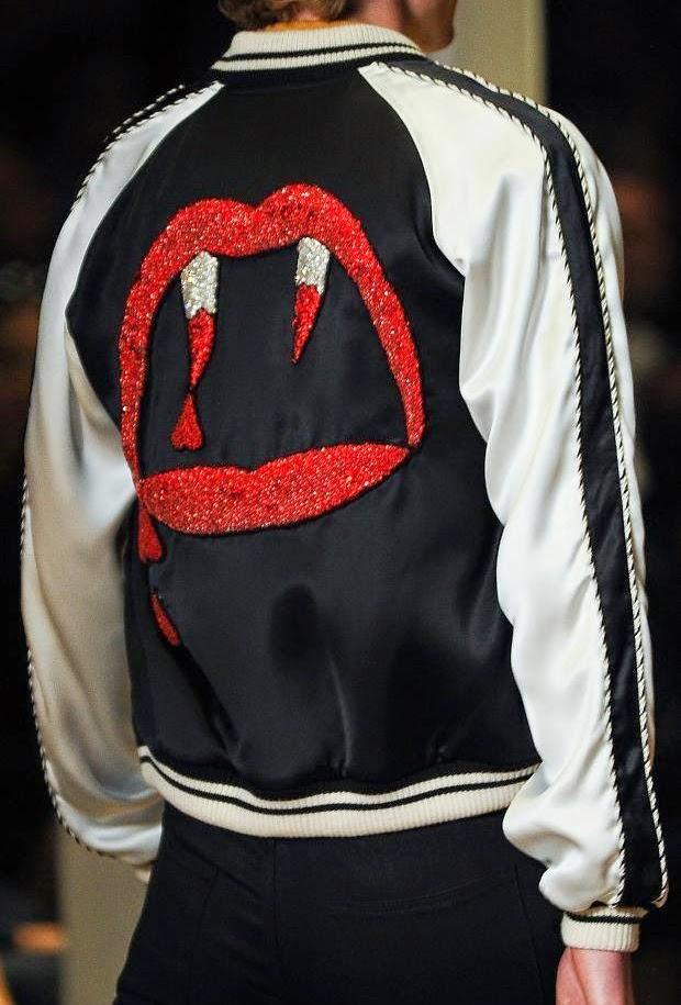 เสื้อแจ็คเก็ตSaint Laurent Vampire Jacket 1:1