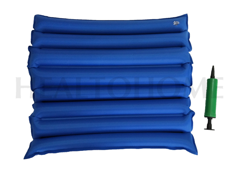 BS04 เบาะลมรองนั่ง แบบลอน กันน้ำ สีน้ำเงิน (ส่งฟรี)