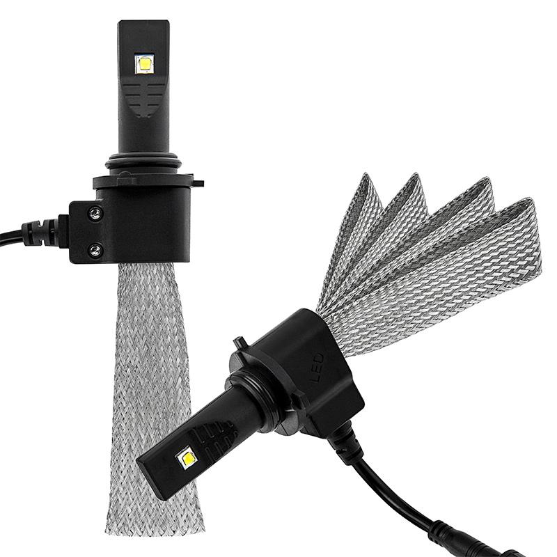 ไฟหน้า LED ขั้ว HB4(9006) Cree 2 ดวง 40W Turbo No Fan