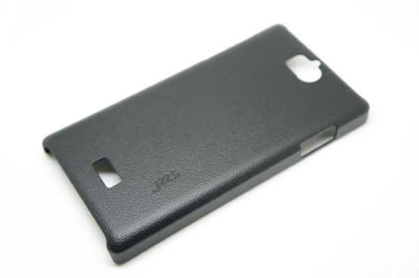 Jzzs Leather Black Case For Oppo Find 3