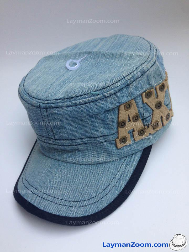 หมวกทรงทหาร ปัก AXE