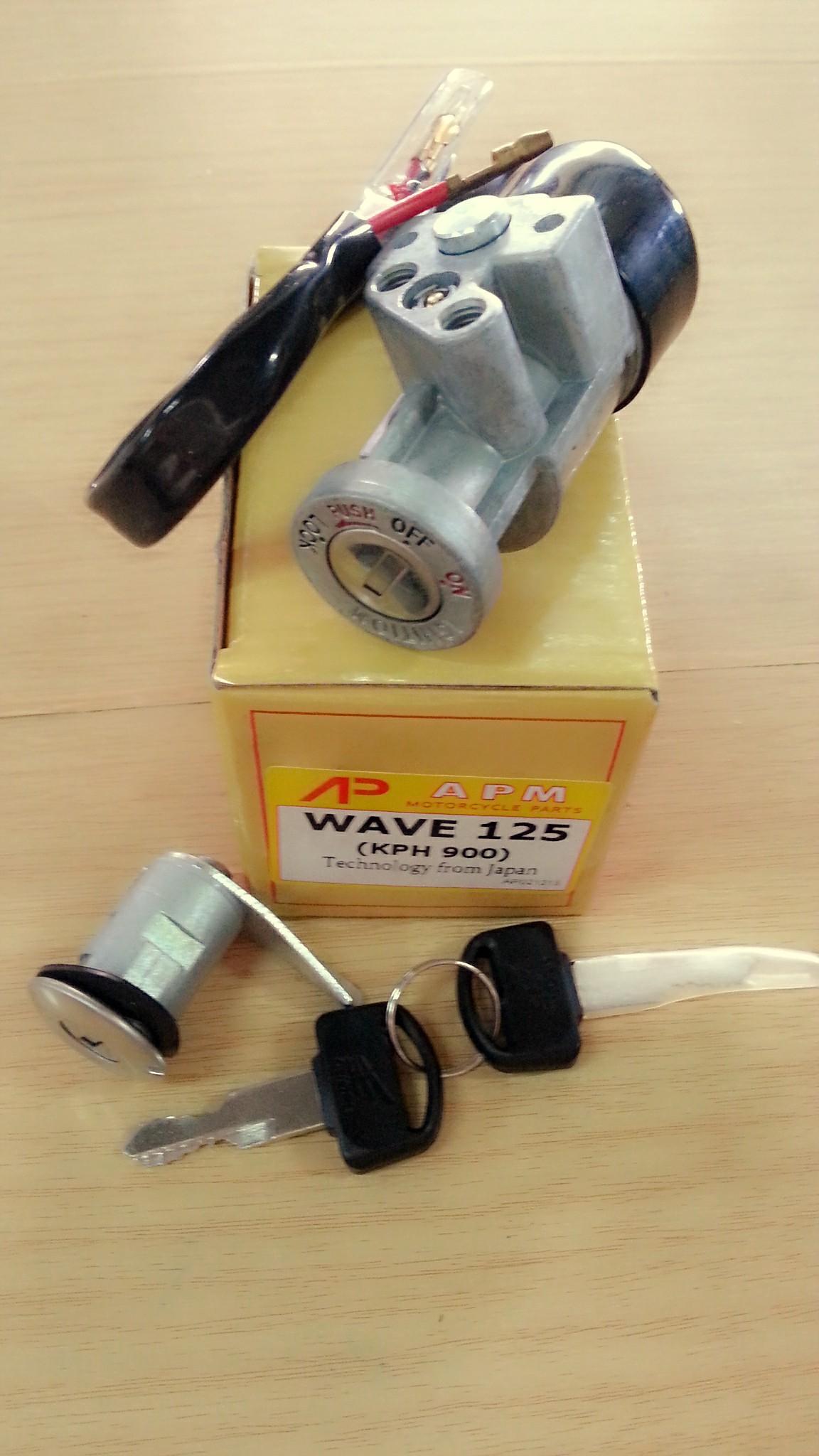 สวิทช์กุญแจ W125 เก่า