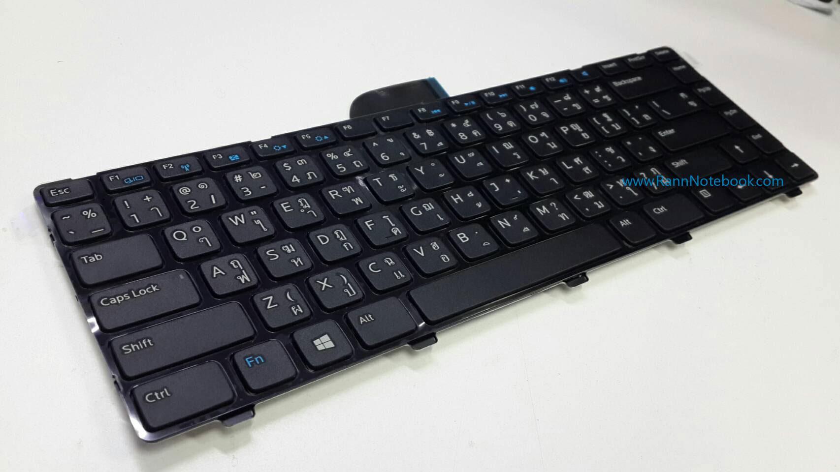 Keyboard Dell Latitude 3440 คีย์บอร์ด Dell แท้ ไทย อังกฤษ ประกัน ศูนย์ Dell Thailand