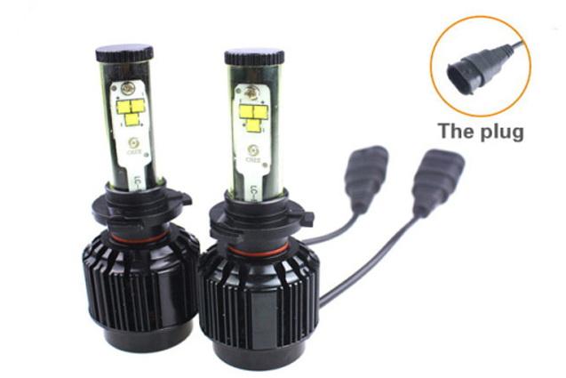 ไฟหน้า LED ขั้ว HB4(9006) Cree 6 ดวง 60W CREE XTE