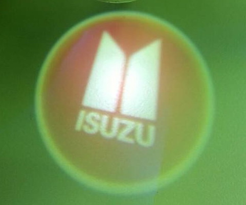 ไฟโลโก้ส่องพื้น Isuzu