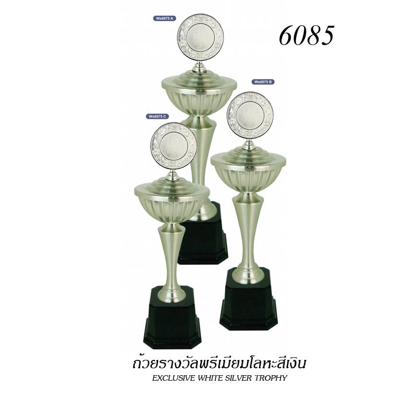 WS-6085 ถ้วยรางวัล White Silver
