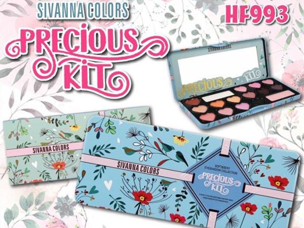 ซิเวียนา อายแชโดว์ ของแท้ รุ่นใหม่ ถูกมาก Sivanna HF993 Soft&Sexy Eyeshadow Collection Precious Kit