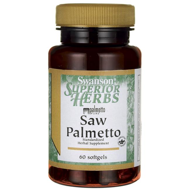 Swanson Saw Palmetto 320 mg มีฤทธิ์ยับยั้งการทำงานของ DHT สำหรับผู้ที่มีปัญหาผมร่วงจากกรรมพันธุ์