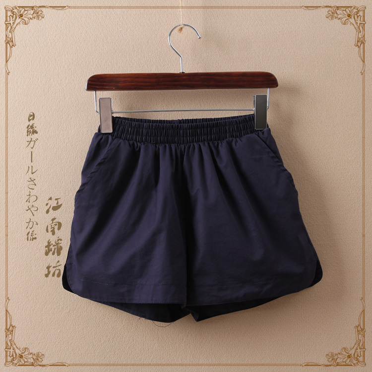 กางเกงยางยืดสีพื้น