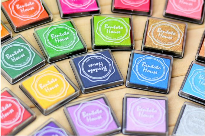 Bentoto House Candy Color Ink Pad เซ็ตหมึกปั๊ม 20 สี