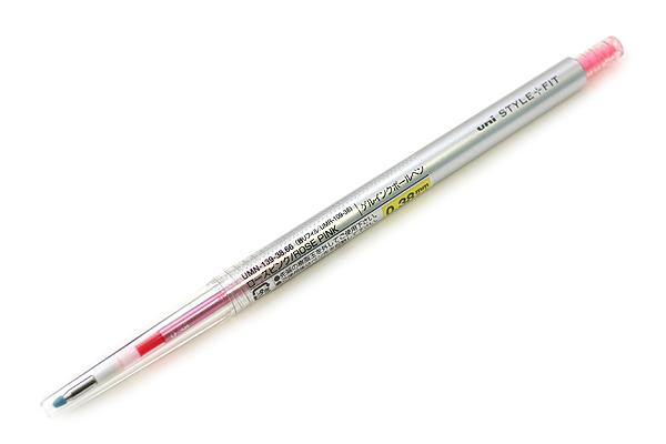 ปากกา Uni Style Fit - Pen 0.38mm RosePink