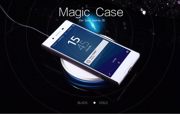 เคส Xperia Z5 ของ Nillkin Magic Case (ชาร์จไฟไร้สาย)