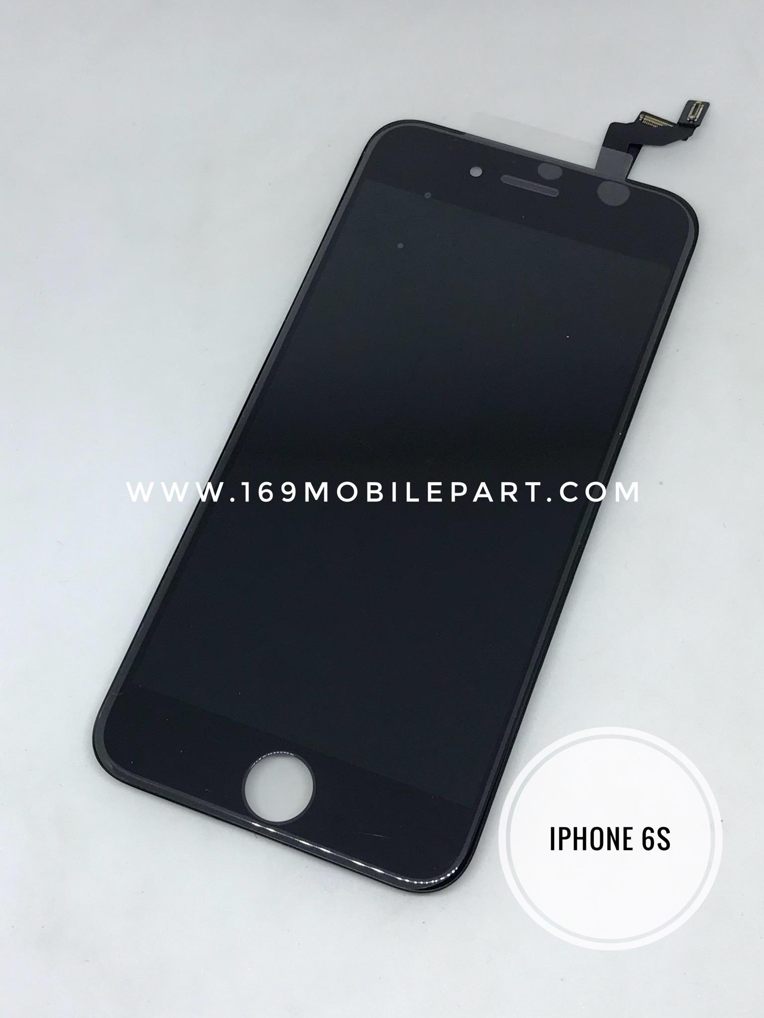 หน้าจอ+ทัชสกรีน iPhone 6S สีดำประกัน 1 ปี LEEPLUS