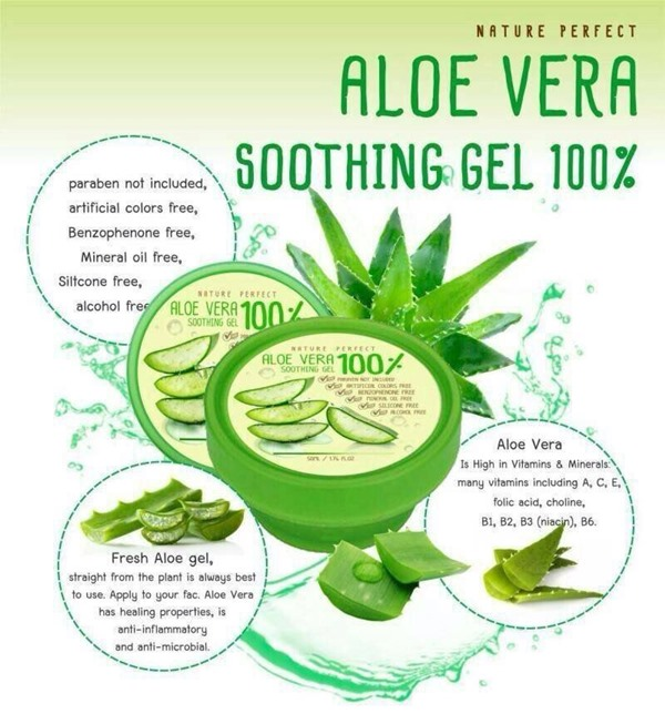 Nature perfect Soothing Aloe Vera 100% 50 ml