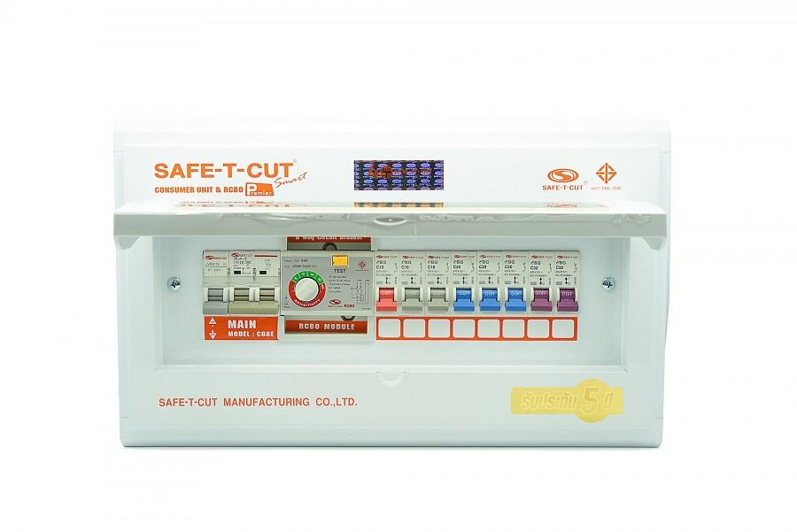 ตู้ RCBO 8 ช่อง Safe-T-Cut