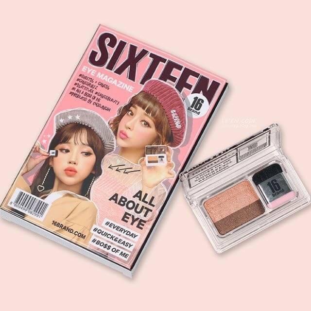 16 Brand Eye Magazine Eyeshadow
