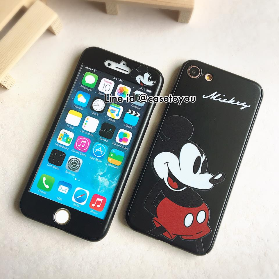 เคสประกบ 360 องศา Mickey Mouse iPhone 7
