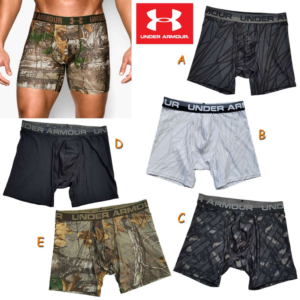 "UNDER ARMOUR OR MESH 6"" BOXERJOCK ( New update 27-04-59)"