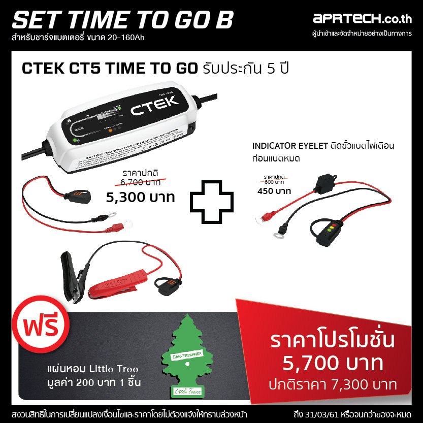 SET : TIME TO GO B (CT5 TIME TO GO + Indicator Eyelet)