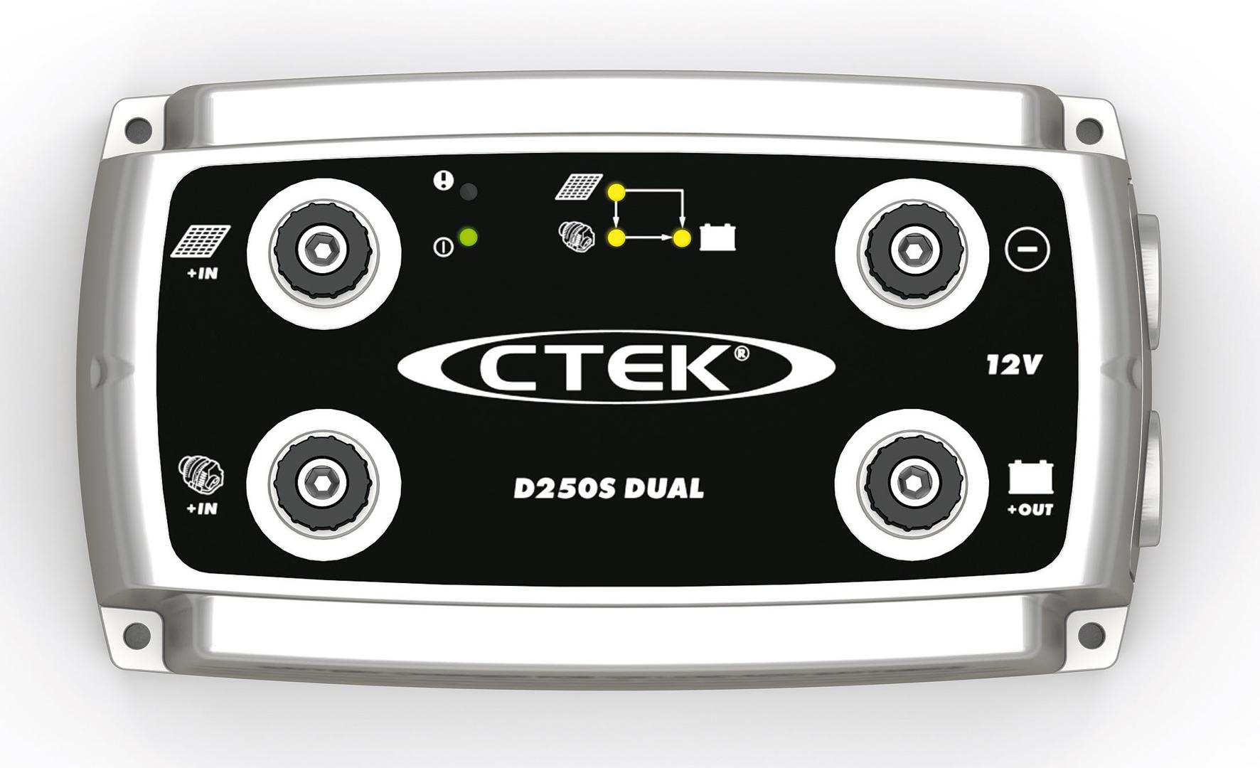เครื่องชาร์จแบตเตอรี่อัจฉริยะ CTEK รุ่น D250S DUAL