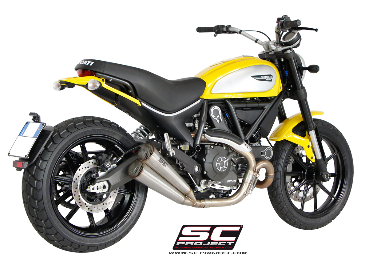 Ducati Scrambler Twin Conic