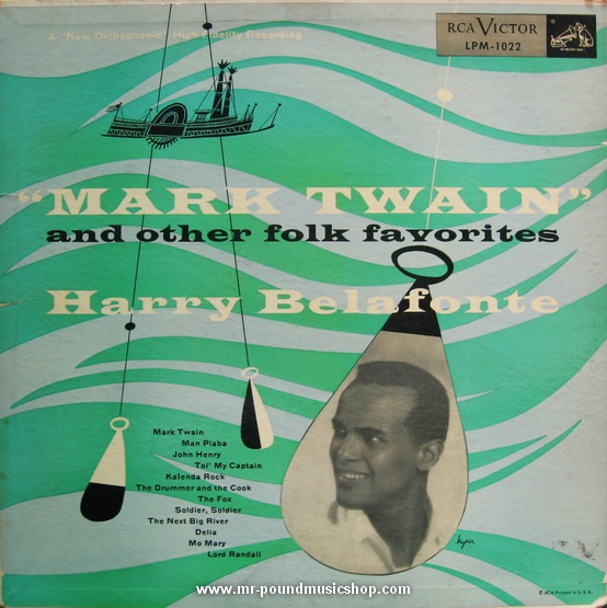 Harry Belafonte - Mark Twain and Other Folk Favorites