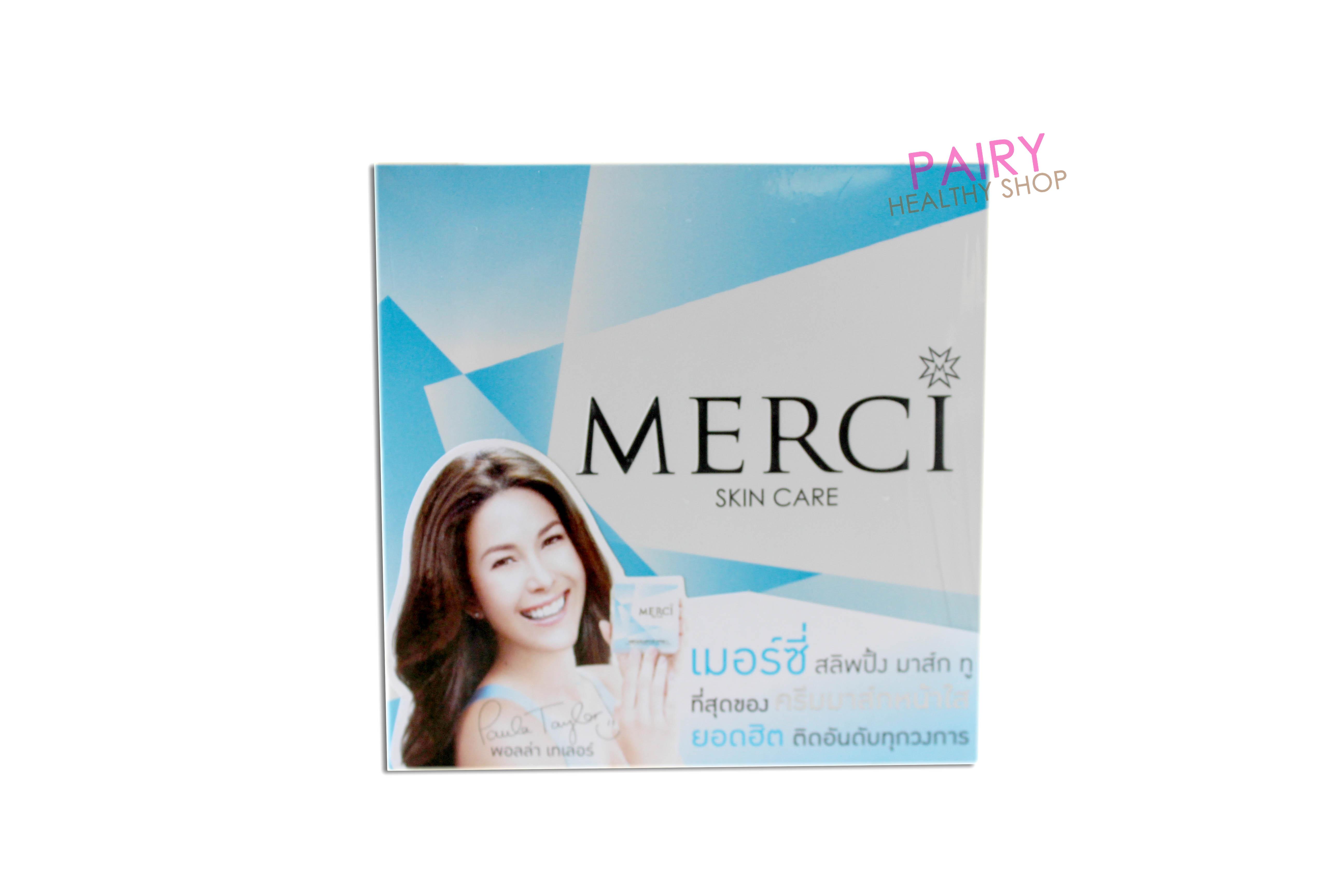 Merci Sleeping Mask เมอร์ซี่ สลิพปิ้ง มาส์ก SALE 69-85% ส่งฟร๊ ลทบ.