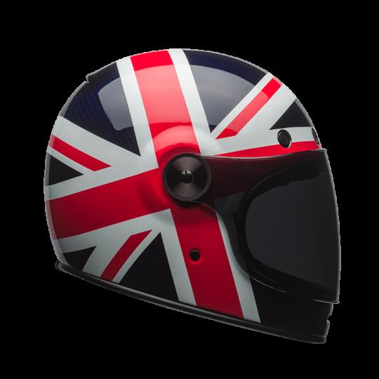 Bell Bullitt Spitfire Blue/Red