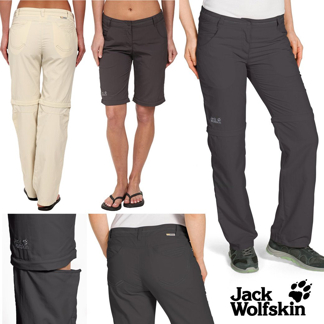 Jack Wolfskins Marrakech Zip off Pant- women
