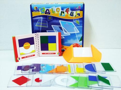 เกมผสมภาพ Colorful ฝึกสมอง 100 Challenges