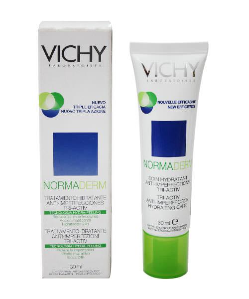 Vichy Normaderm Tri-Activ Anti-Imperfection Hydrating Care 30mL Day Cream สำหรับคนเป็นสิว สำเนา