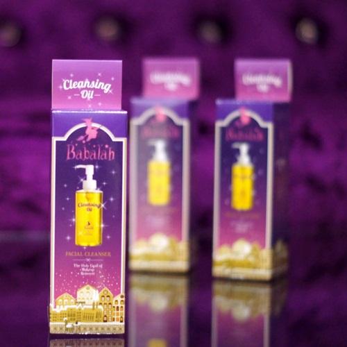 Babalah Cleansing Oil Facial Cleanser บาบาร่า คลีนซิ่งออยล์
