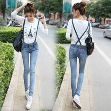 OW5710006 เอี้ยมยีนส์สาวเกาหลี คาบอย น่ารักหวาน (พรีออเดอร์) รอสินค้า 3 อาทิตย์หลังโอนเงิน