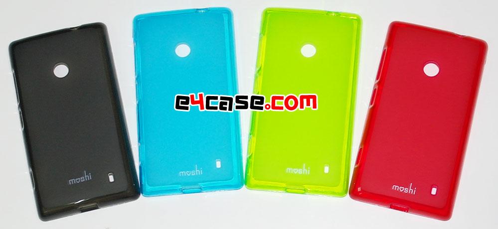 เคส Lumia 520 (Nokia) - เคสยาง
