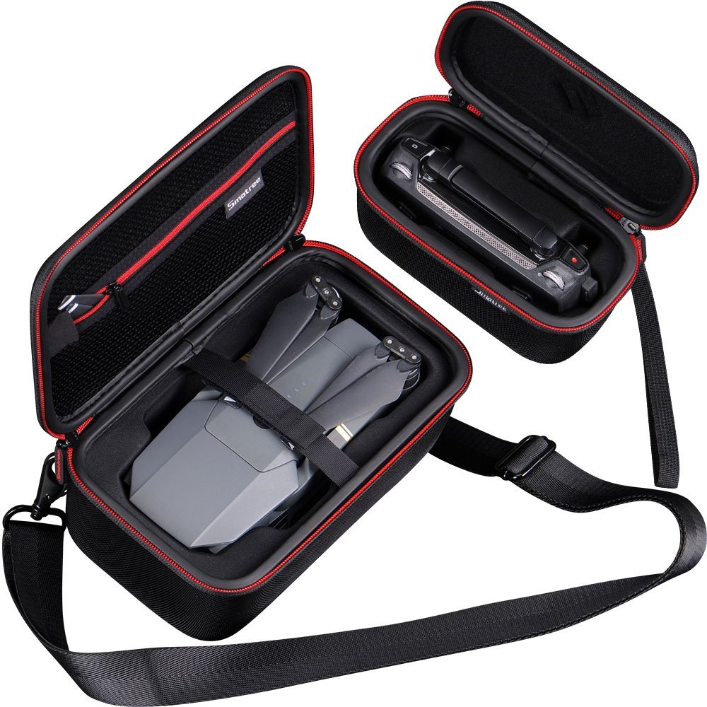 Smatree Carrying Case Protective Bag with Shoulder For Mavic Pro and Remote Control