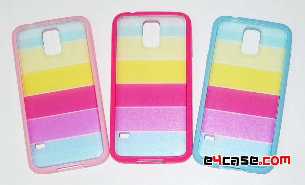 เคส Galaxy S5 (Samsung i9600) - เคสรุ้ง