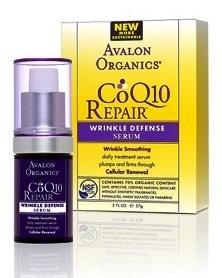 ลด 30 % AVALON ORGANICS :: CoQ10 Repair - Wrinkle Defense Serum เซรั่มลดริ้วรอย ต่อต้านอนุมูลอิสระ กระตุ้นสร้างคอลาเจนและอีลาสติน