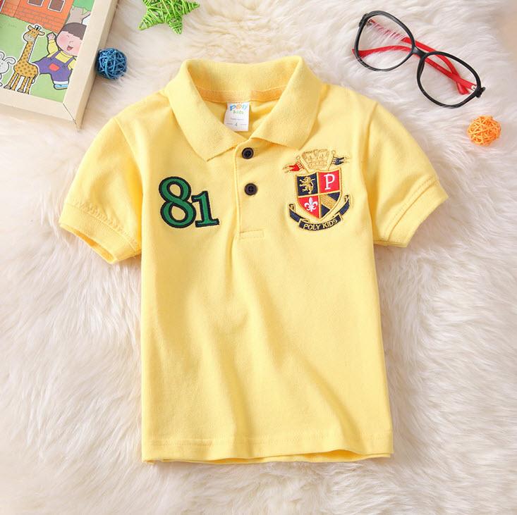 **เสื้อโปโล 81 เหลือง | | 4-6-8-10-12-14 | 6ตัว/แพ๊ค | เฉลี่ย 150/ตัว