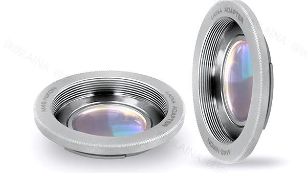 อแดปเตอร์ LAINA แปลงท้ายเลนส์ M42 with glass ใช้กับกล้อง NIKON มีชิ้นเลนส์ ใช้เลนส์คุณภาพดี