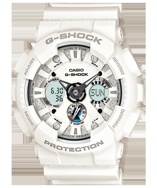นาฬิกา คาสิโอ Casio G-Shock Standard Analog-Digital รุ่น GA-120A-7A สินค้าใหม่ ของแท้ ราคาถูก พร้อมใบรับประกัน