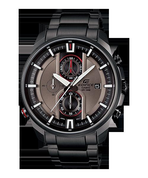 นาฬิกา คาสิโอ Casio Edifice Chronograph รุ่น EFR-533BK-8AV สินค้าใหม่ ของแท้ ราคาถูก พร้อมใบรับประกัน