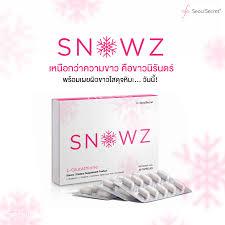 Snowz gluta สโนวซ์ กลูต้า อาหารเสริมผิวขาวใส by โซวซีเคร็ท ต่อไปนี้แค่ขาวอย่างเดียวคงไม่พออีกต่อไป ถ้าไม่รักษา ความขาวให้คงอยู่ยาวนาน Snowz เผยผิวขาว...ดุจดั่งหิมะ ให้ผิวขาวขึ้นอย่างธรรมชาติ พร้อม 6 เกราะป้องกันผิว... รักษาผิวขาวของคุณให้ขาวนานยิ่งขึ้น