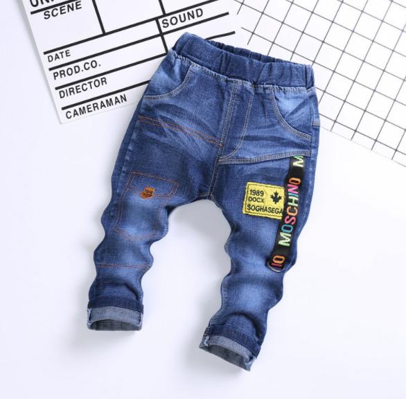 **กางเกงยีนต์ขายาว MOSCHINO size= L-4XL | 5ตัว/แพ๊ค | เฉลี่ย 140/ตัว