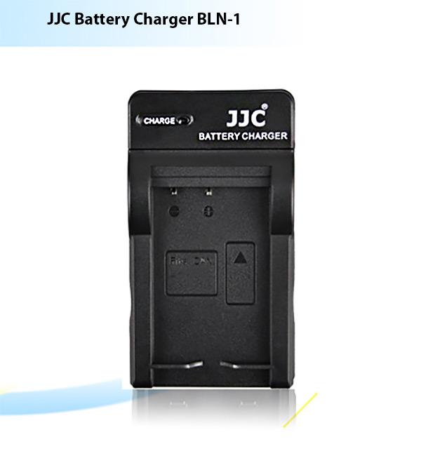 แท่นชาร์จแบตเตอรี่ JJC สำหรับ OLYMPUS BLN-1